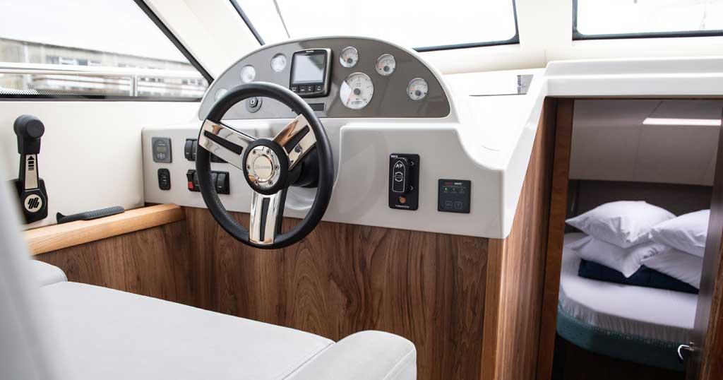 Inside a Broom Boat