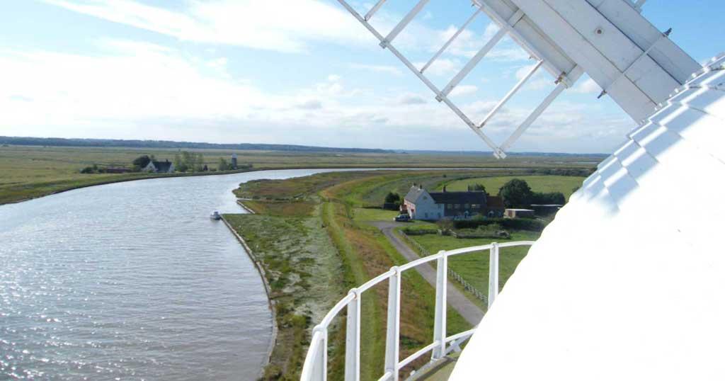 Norfolk Broads holiday Berney Windmill